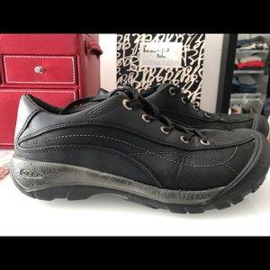 Keen black leather size 8 ,38.5 EU
